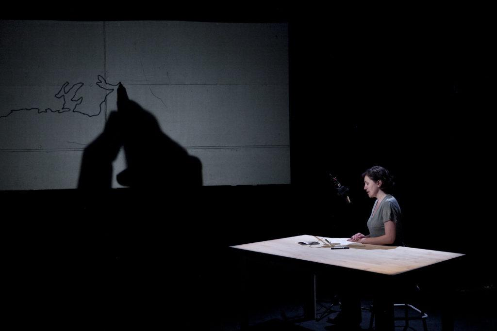 MALSTRØM 68N - une pièce d'Aurélien Gamboni, Sandrine Teixido et Théo Keiflin. Théâtre de l'Usine, Genève, le 05 juin 2015. © Dorothée Thébert Filliger