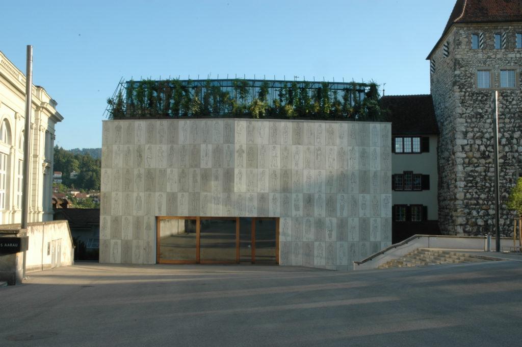 Martin Steinmann und Diener & Diener: Stadtmuseum Aarau, Erweiterungsbau, 2007-2015
