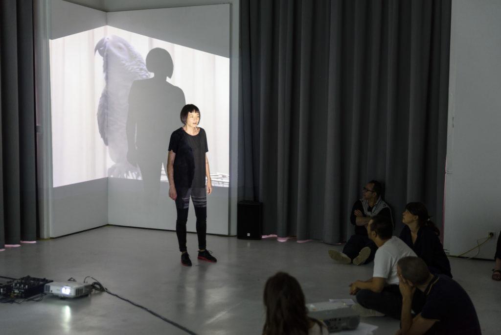 Documentation de la performance » A d'autres ! » © François Blin - HEAD, Genève
