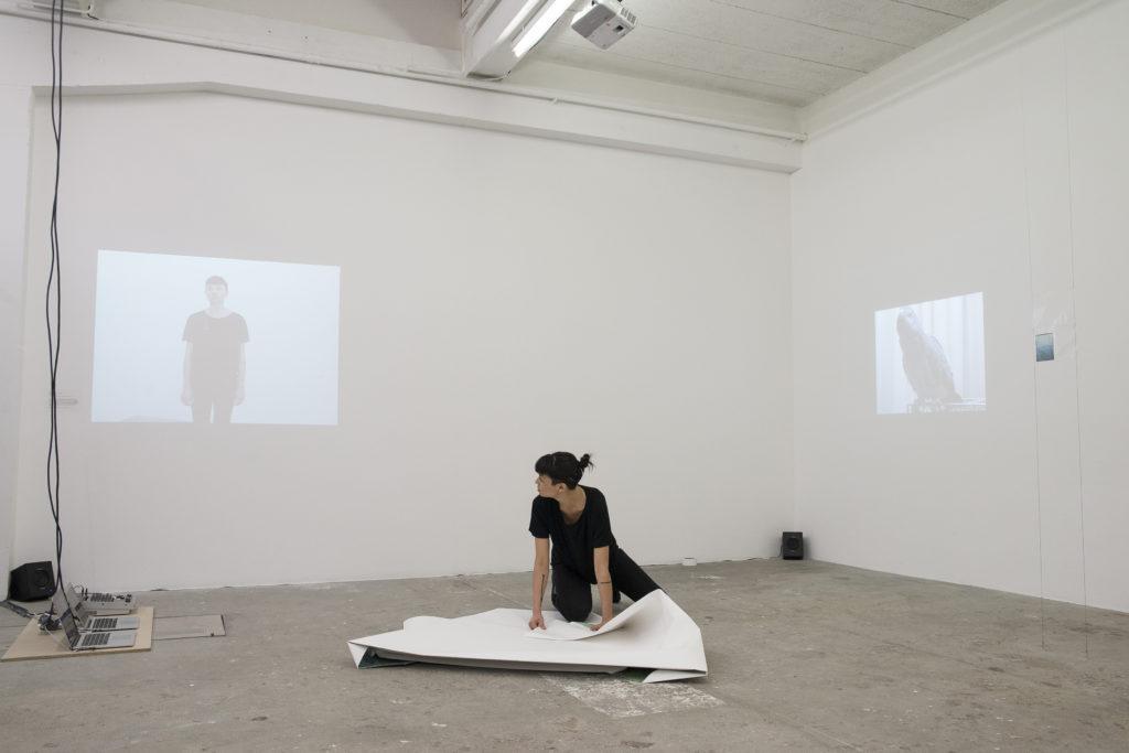 Documentation de la performance « Qu'est-ce que tu racontes ? » Leonie Marion - HEAD, Genève